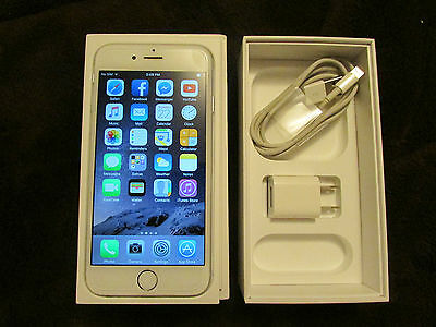 Apple iPhone 6 128gb Silver White Rogers Wireless Smartphone Clean IMEI