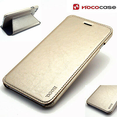 Leather HOCO CRYSTAL SERIES Wallet Book case for APPLE IPHONE 6 PLUS - GOLD