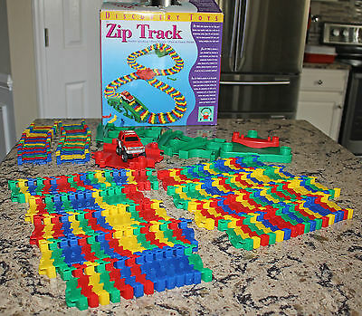 Discovery Toys Zip Track Flexible Speedway Excellent