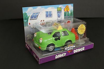 Chevron Cars Davey Driver - Limited Edition 1998 - Green with Traffic Cones