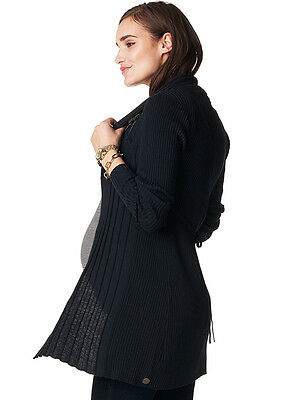 NEW - Noppies - Anne Knit Cardigan in Dark Blue - Maternity Cardigan