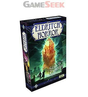 Fantasy Flight Games Signs Of Carcosa Eldritch Horror Expansion Board Game - New