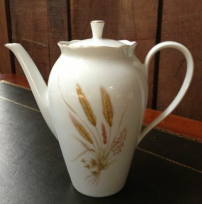Coffee Pot - Rare Golden Wheat pattern - a650cp