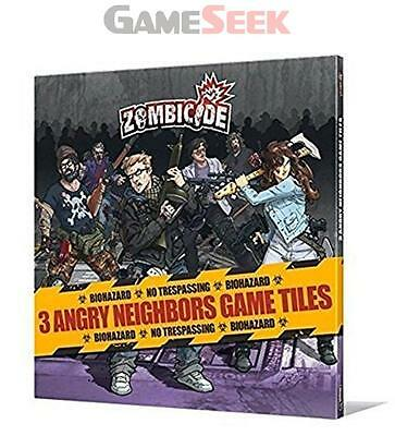 Zombicide Angry Neighbours Tiles Pack - Toys Brand New Free Delivery