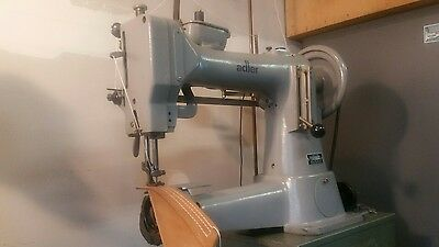 adler 105-64 heavy duty leather cylinder arm sewing machine
