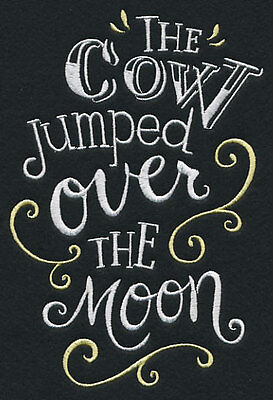 The cow jumped over the moon pillowcase  - can personalise