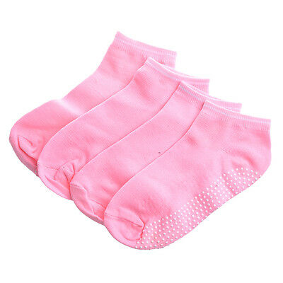 2 pairs Yoga Socks with non-slip massage Granules for women - Pink