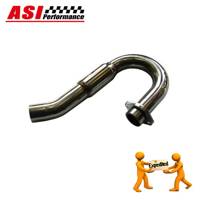 S/S BOMB Exhaust Head Header Pipe For Yamaha YZ450F YZ 450 F 2007-2009