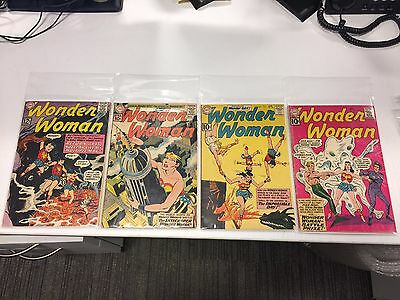 Wonder Woman #117 119 122 124 125 129 - 10 12 cent Silver Age Key Books 3.0/4.0