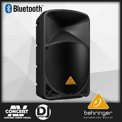 "Behringer Eurolive B112W Wireless Active 1000w 12"" PA Speaker with Bluetooth"