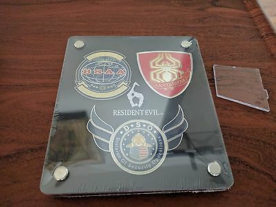resident evil 6 limited edition badges