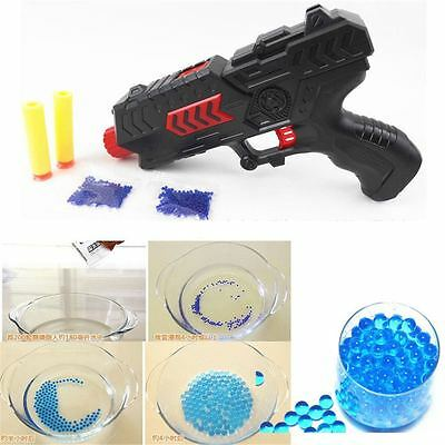 2 in1 Water Crystal Paintball Soft Bullet Gun Toy Pistol CS Game Toy Kids Gift