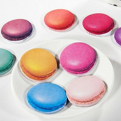 Korea Cute Macaron Sticky Note Memo Pad Labels Gift Office Supply Nice US