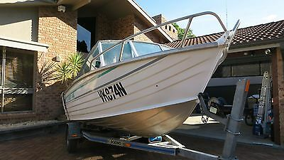 1997 Stacer 445 Runabout & Trailer