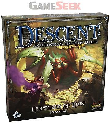 Labyrinth Of Ruin: Descent - Toys Brand New Free Delivery