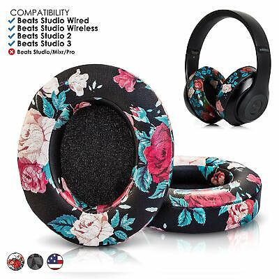 Replacement Ear Pads Cushion for Beats by Dr dre Studio 2.0 / 3.0 Headphones
