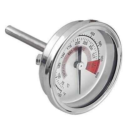 "1/2"" NPT Threaded Stainless Steel Thermometer Moonshine Still Kitchen Cooking"