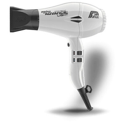 Parlux Advance Light Ionic and Ceramic Hair Dryer White