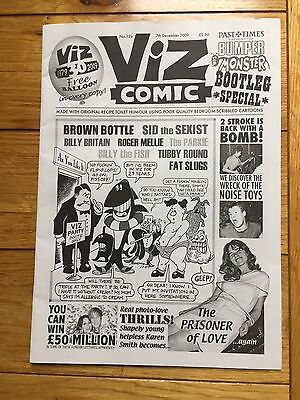 Rare Viz Comic No. 12b - 30 Year Monster Bootleg Special With Stapled Balloon