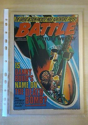 BATTLE PICTURE WEEKLY UK Comic. First Year Issue - 1975. (2 August 1975)