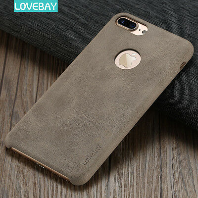 Ultra Thin Slim Luxury PU Leather Back Case Cover For Apple iPhone 6 6s 7 7 Plus