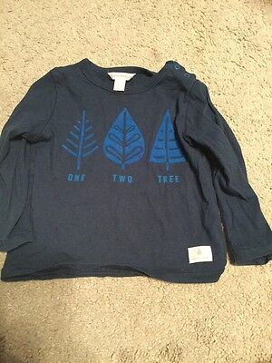 Country Road boys long sleeve top - size 12-18 months -EUC
