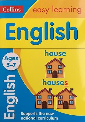 English Collins easy learning Ages 5-7 CHILDREN'S Book New