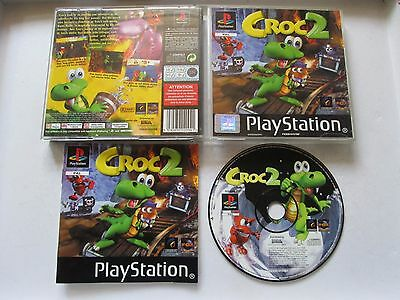 Croc 2 For Sony Playstation 1 / PS1 Game Complete PAL 1999