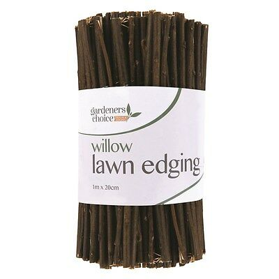Willow Garden Edging Lawn Edge Flexible Border Pathway Fence Path Flower Bed