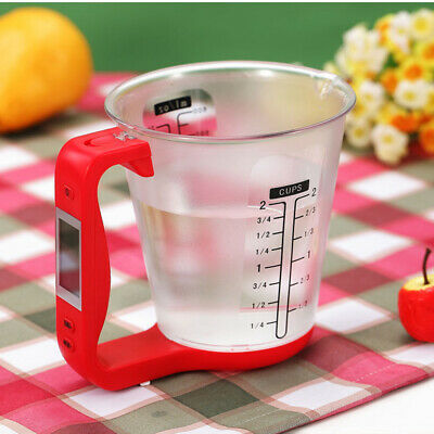 Electronic Measuring Scale Cup Detachable Digital Scale Kitchen Measure Tool