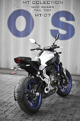 "Yamaha FZ07/MT07 Rear Splash Guard/Mud Guard ""Esatto"" by Leon"