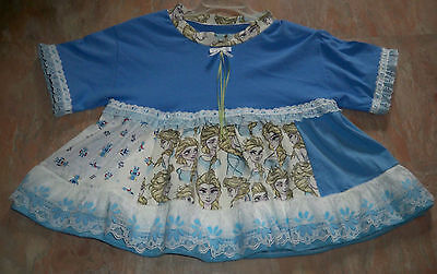 """ADULT BABY 38"""" Cotton Knit Dress w/ Many Colors, By  KT"""