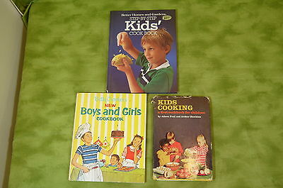 Kid's Cookbook Lot of 3 Books