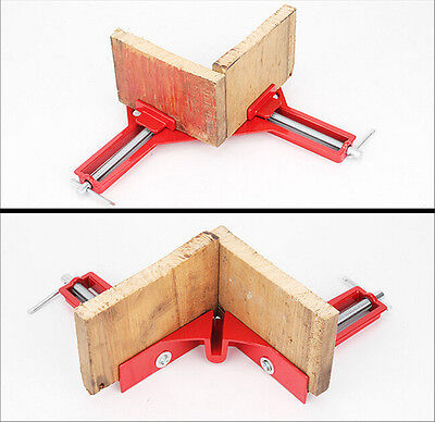 90° Right Angle Clip Corner Clamp Photo Frame Picture Frame Mitre Clamps New