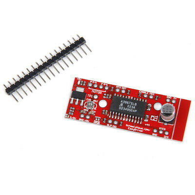 EasyDriver Shield stepping Stepper Motor Driver V4 A3967 For Arduino Red