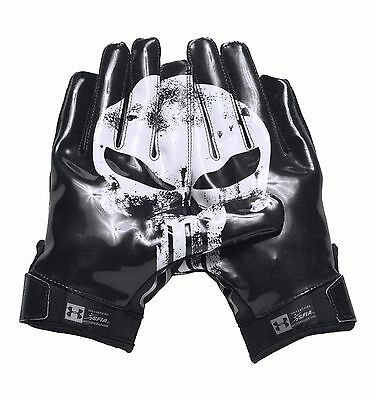 Under Armour Men's UA Alter Ego Punisher F5 Football Receiver Gloves - NWT