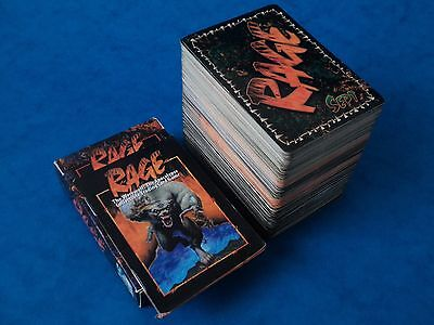 1995 CCG Cards - RAGE - 244 Cards - All Pictured - Werewolf Apocalypse