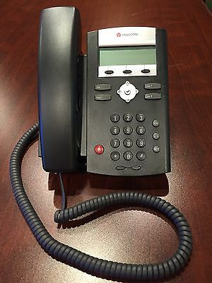 Polycom Soundpoint IP 331 VOIP Phone  - INCLUDES POWER ADAPTER