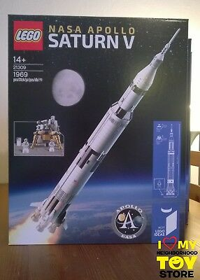 Pronta Cons. - Lego 21309 Ideas #017 Nasa Apollo Saturn V - Immediate Shipping !