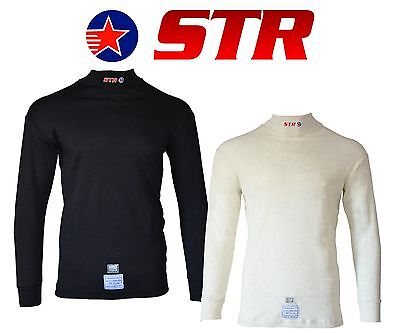 STR Club Rayon/Nomex Top  FIA & SFI Approved Race Underwear Fire Retardant