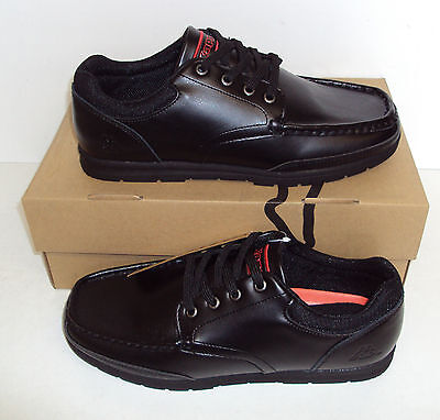 Kappa Men's Sandies Black New Leather Coated Casual Lace Up Shoes Sizes UK 6-12