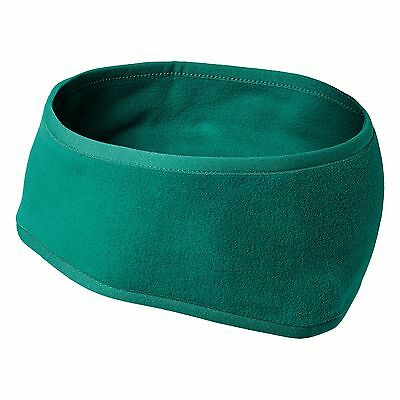 Kathmandu Womens Mens Polyester Fleece Earmuff Ear Warmer Headband v3 Green