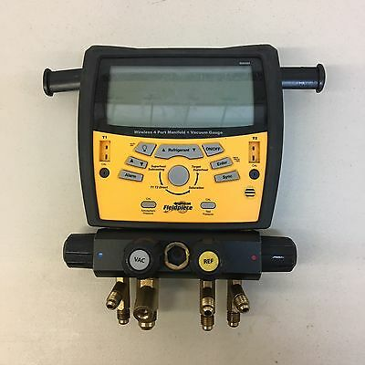 Fieldpiece SMAN4 - 4 Port Wireless Digital Manifold No Hoses & clamps.