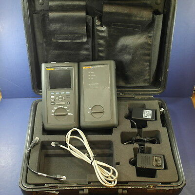 Fluke DSP-2000 Network Cable Analyzer & DSP-2000SR Smart Remote! Good Condition!