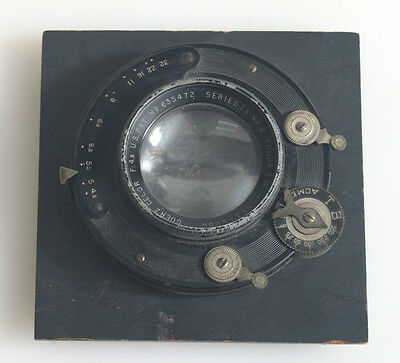 Goerz Celor Series Lb No. 2 Focus F 4.5 On Board