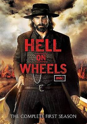 Hell on Wheels: Season 1 (DVD, 2012, 3-Disc Set) LN