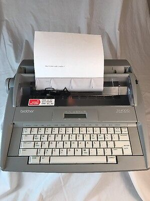Brother SX-4000 Electronic Typewriter Word Correction Spell Checker Display LCD