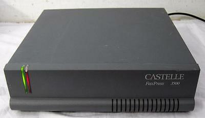 Castelle FaxPress 3500 3000 Series 4-Line Fax Server       FREE SHIP