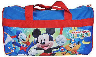 """Disney Mickey Mouse Clubhouse Duffel Bag 18"""""""