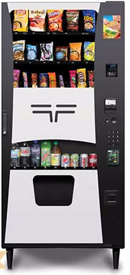 Futura Snack And Soda Combo Vending Machine With Credit Card Reader